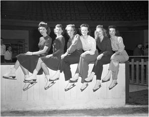 Primary view of object titled 'Convair Girls on Ice'.
