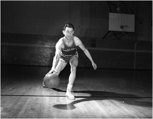 Primary view of object titled 'Bill Nelms, basketball player'.