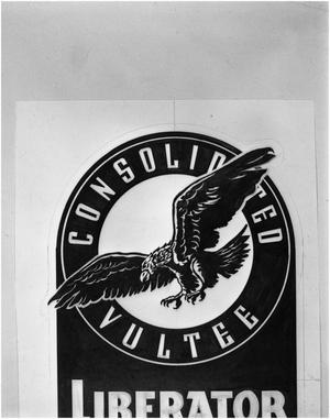 Primary view of object titled 'Insignia of Consolidated Vultee Aircraft Corporation'.
