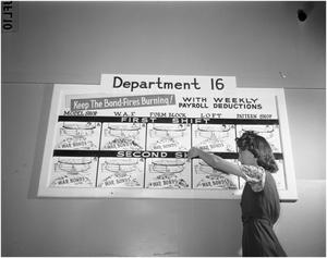 Primary view of object titled 'Marie Casey Adjusting Bond Poster'.
