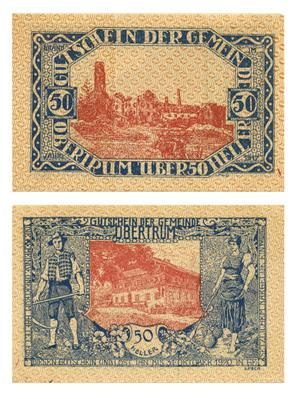 Primary view of [Voucher from Germany in the denomination of 50 heller]
