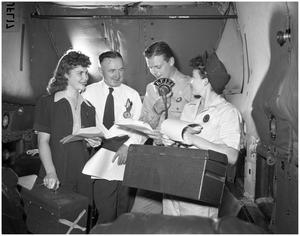 Primary view of object titled 'Army Air Forces Radio Show'.
