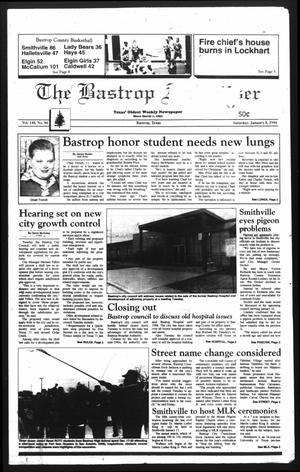 Primary view of object titled 'The Bastrop Advertiser (Bastrop, Tex.), Vol. 140, No. 90, Ed. 1 Saturday, January 8, 1994'.