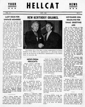 Primary view of object titled 'Hellcat News, (Detroit, Mich.), Vol. 19, No. 2, Ed. 1, October 1964'.