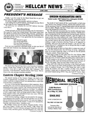 Primary view of object titled 'Hellcat News, (Sheridan, Wyo.), Vol. 53, No. 10, Ed. 1, June 2000'.