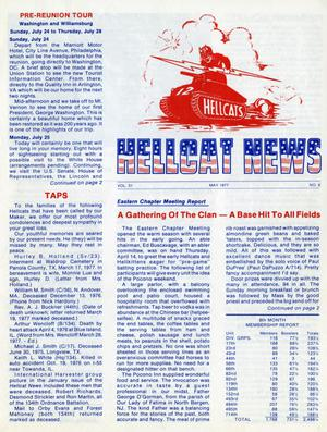 Primary view of object titled 'Hellcat News, (Springfield, Ill.), Vol. 31, No. 8, Ed. 1, May 1977'.