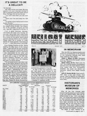 Primary view of object titled 'Hellcat News, (Springfield, Ill.), Vol. 31, No. 11, Ed. 1, August 1977'.