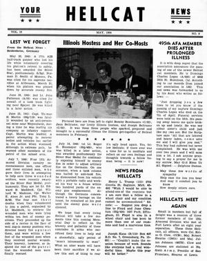 Primary view of object titled 'Hellcat News, (Detroit, Mich.), Vol. 18, No. 9, Ed. 1, May 1964'.