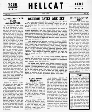 Primary view of object titled 'Hellcat News, (Detroit, Mich.), Vol. 18, No. 6, Ed. 1, February 1964'.
