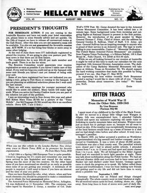 Primary view of object titled 'Hellcat News, (Seward, Neb.), Vol. 45, No. 12, Ed. 1, August 1992'.