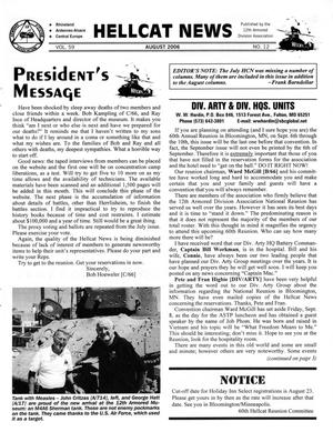Primary view of object titled 'Hellcat News, (Fullerton, Calif.), Vol. 59, No. 12, Ed. 1, August 2006'.