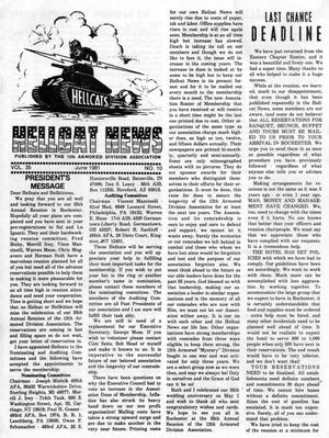 Primary view of object titled 'Hellcat News, (Springfield, Ill.), Vol. 35, No. 10, Ed. 1, June 1981'.