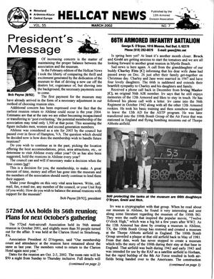 Primary view of object titled 'Hellcat News, (Sheridan, Wyo.), Vol. 55, No. 7, Ed. 1, March 2002'.
