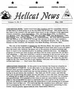 Primary view of object titled 'Hellcat News, (Wilmington, Del.), Vol. 2, No. 8, Ed. 1, May 1948'.