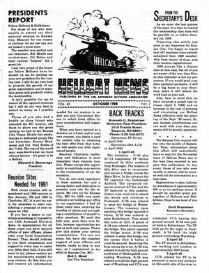 Primary view of object titled 'Hellcat News, (Godfrey, Ill.), Vol. 42, No. 2, Ed. 1, October 1988'.