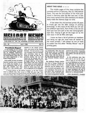 Primary view of object titled 'Hellcat News, (Springfield, Ill.), Vol. 34, No. 9, Ed. 1, May 1980'.