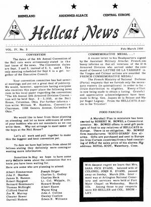 Primary view of object titled 'Hellcat News, (Louisville, Ky.), Vol. 4, No. 3, Ed. 1, February/March 1950'.