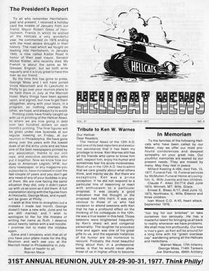 Primary view of object titled 'Hellcat News, (Springfield, Ill.), Vol. 31, No. 6, Ed. 1, March 1977'.