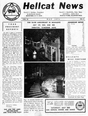Primary view of object titled 'Hellcat News, (Maple Park, Ill.), Vol. 25, No. 9, Ed. 1, May 1971'.