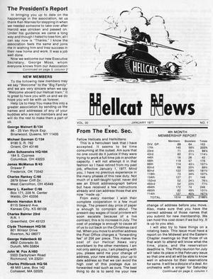 Primary view of object titled 'Hellcat News, (Springfield, Ill.), Vol. 31, No. 4, Ed. 1, January 1977'.