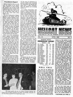 Primary view of object titled 'Hellcat News, (Springfield, Ill.), Vol. 34, No. 8, Ed. 1, April 1980'.