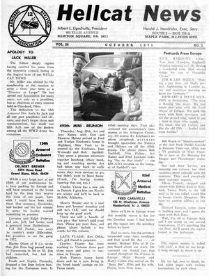 Primary view of object titled 'Hellcat News, (Maple Park, Ill.), Vol. 26, No. 2, Ed. 1, October 1971'.