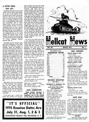 Primary view of object titled 'Hellcat News, (North Aurora, Ill.), Vol. 28, No. 7, Ed. 1, March 1975'.