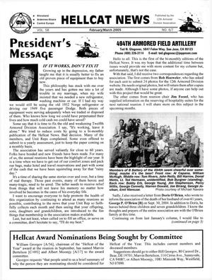 Primary view of object titled 'Hellcat News, (Fullerton, Calif.), Vol. 58, No. 6-7, Ed. 1, February-March 2005'.