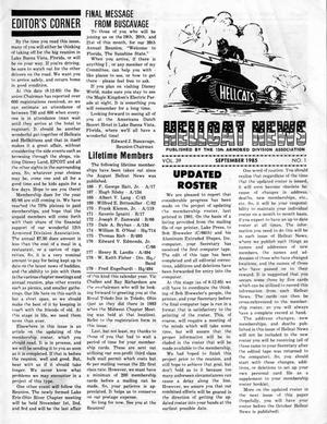 Primary view of object titled 'Hellcat News, (Godfrey, Ill.), Vol. 39, No. 1, Ed. 1, September 1985'.