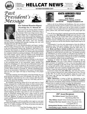 Primary view of object titled 'Hellcat News, (Abilene, Tex.), Vol. 60, No. 2-3, Ed. 1, October-November 2007'.