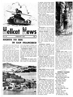 Primary view of object titled 'Hellcat News, (Maple Park, Ill.), Vol. 26, No. 6, Ed. 1, February 1973'.