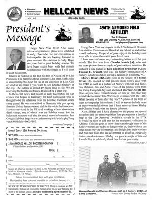 Primary view of object titled 'Hellcat News, (Abilene, Tex.), Vol. 63, No. 5, Ed. 1, January 2010'.
