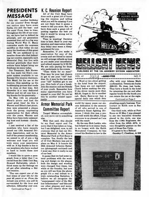 Primary view of object titled 'Hellcat News, (Godfrey, Ill.), Vol. 41, No. 10, Ed. 1, July 1988'.