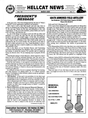 Primary view of object titled 'Hellcat News, (Sheridan, Wyo.), Vol. 53, No. 7, Ed. 1, March 2000'.