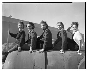 Primary view of object titled 'Convair Chorus Girls'.