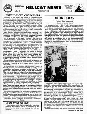 Primary view of Hellcat News, (Kingman, Ariz.), Vol. 46, No. 6, Ed. 1, February 1993