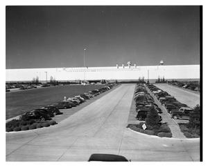 Primary view of object titled 'Exterior of Consolidated Vultee Aircraft Corporation Plant in Fort Worth, Texas'.