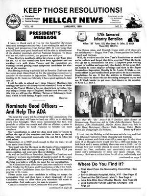 Primary view of object titled 'Hellcat News, (Kingman, Ariz.), Vol. 48, No. 5, Ed. 1, January 1995'.