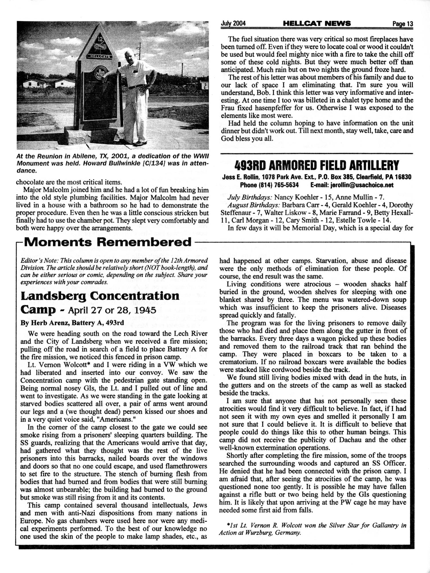 Hellcat News, (Fullerton, Calif.), Vol. 57, No. 11, Ed. 1, July 2004                                                                                                      [Sequence #]: 13 of 20