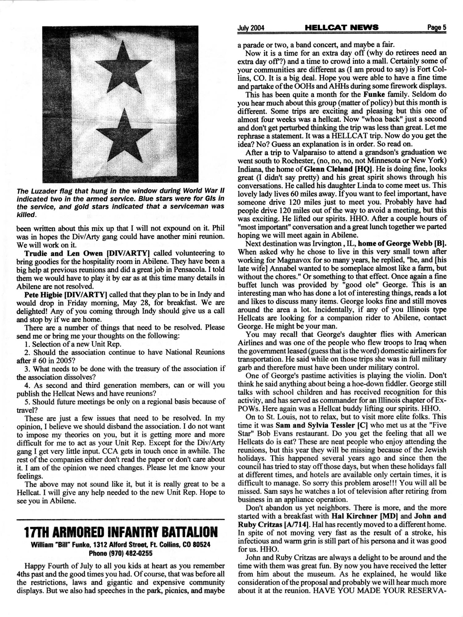 Hellcat News, (Fullerton, Calif.), Vol. 57, No. 11, Ed. 1, July 2004                                                                                                      [Sequence #]: 5 of 20