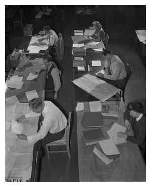 Primary view of object titled 'Assembly Planning Department at Convair'.