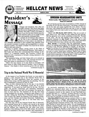 Primary view of object titled 'Hellcat News, (Fullerton, Calif.), Vol. 57, No. 7, Ed. 1, March 2004'.
