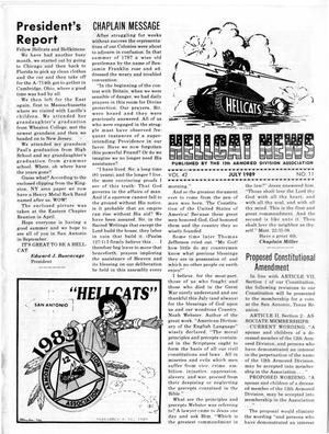 Primary view of object titled 'Hellcat News, (Godfrey, Ill.), Vol., No., Ed. 1, July 1989'.