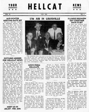 Primary view of Hellcat News, (Detroit, Mich.), Vol. 19, No. 5, Ed. 1, January 1965