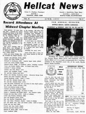 Primary view of object titled 'Hellcat News, (Maple Park, Ill.), Vol. 24, No. 8, Ed. 1, April 1970'.