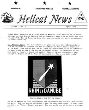 Primary view of object titled 'Hellcat News, (Wilmington, Del.), Vol. 2, No. 7, Ed. 1, April 1948'.