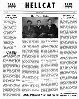 Primary view of object titled 'Hellcat News, (Detroit, Mich.), Vol. 16, No. 7, Ed. 1, March 1962'.