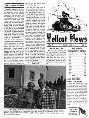 Primary view of object titled 'Hellcat News, (North Aurora, Ill.), Vol. 29, No. 7, Ed. 1, March 1976'.