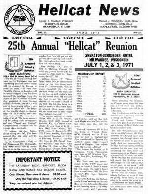 Primary view of object titled 'Hellcat News, (Maple Park, Ill.), Vol. 25, No. 10, Ed. 1, June 1971'.