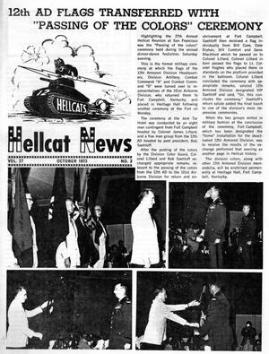 Primary view of object titled 'Hellcat News, (Maple Park, Ill.), Vol. 27, No. 2, Ed. 1, October 1973'.